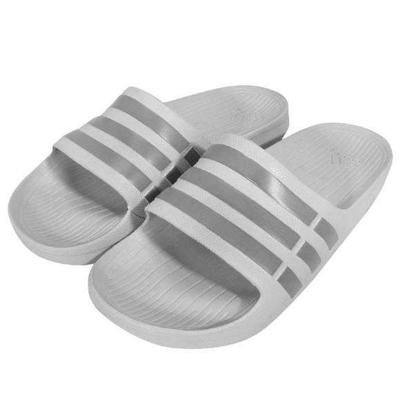 adidas Shoes   Adidas Gray Slides